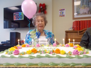 100th Birthday Celebration At Legacy GrandeVie